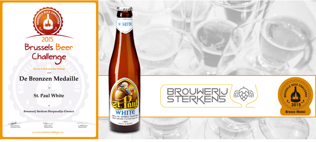 2015 Brussels Beer Challenge St. Paul White